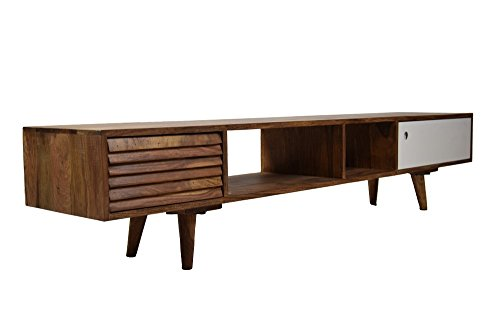 Sideboard Retro Oslo TV Board Sheesham Massivholz 180