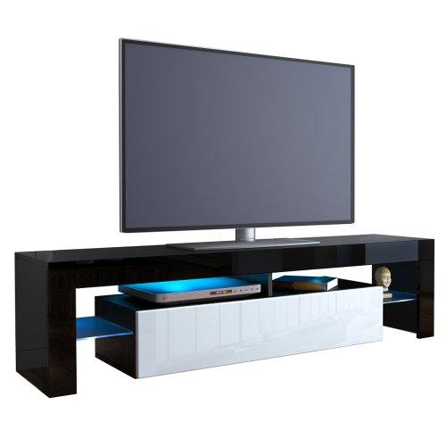 TV Board Lowboard Lima V2 V1 Schwarz