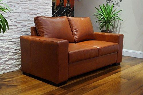 "Echtleder 2,5 Sitzer Sofa ""Mallorca"" Breite 175cm Ledersofa Echt Leder Couch große Farbauswahl !!!"