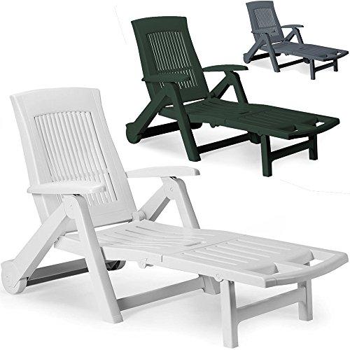 Sonnenliege Liege ZIRCONE Gartenliege Relaxliege Liegestuhl Gartenmöbel Stuhl