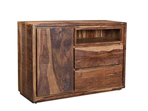 Woodkings® Sideboard Blackdale Massivholz Palisander, Anrichte Design Kommode Schubladen, Sheesham Massiv Holzmöbel