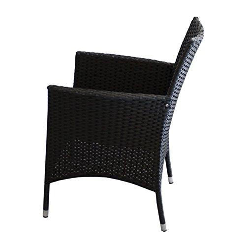 multistore 2002 11tlg gartengarnitur gartentisch ausziehbar aluminium polywood brown grey 280. Black Bedroom Furniture Sets. Home Design Ideas