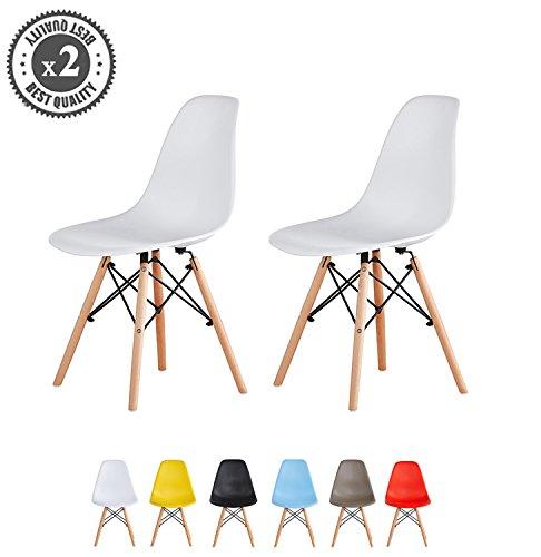 Modernes design stuhl eames stil lia durch mcc m bel24 for Design stuhl draht