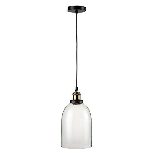 Lightsjoy Industrielle Stil Classic Glas Kronleuchter Lampenschirm hängende Beleuchtung leuchtet hängende Decke Lampenschirm