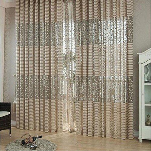 Jacquard Wirkerei Vorhänge für Fenster Wohnzimmer Die Sun Shading Vorhang