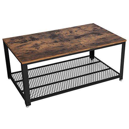 songmics couchtisch wohnzimmertisch sofatisch mit. Black Bedroom Furniture Sets. Home Design Ideas