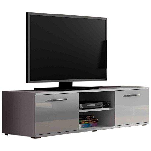 JUSTyou Saho Lowboard TV-Board Fernsehtisch 140 cm große Farbauswahl