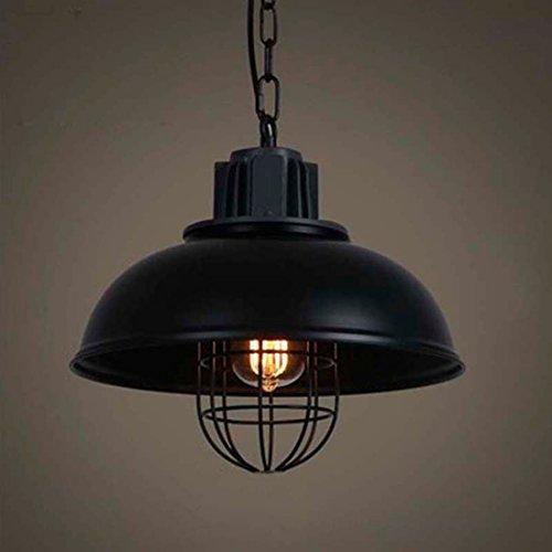 BAYCHEER Retro Vintage Pendelleuchte Hängelampe Industrie Kronleuchter Deckenlampe Metall E27 Fassung höhenverstellbar Küche Esszimmer Kinderzimmer Restaurant