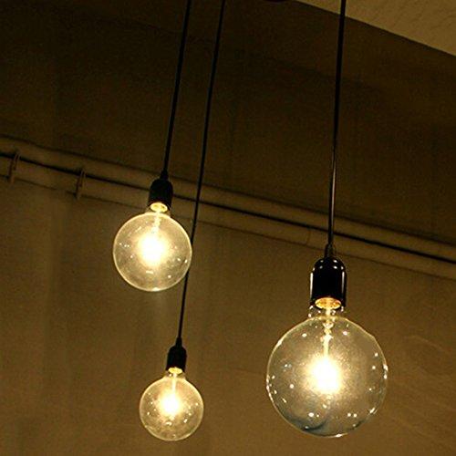E27 Creative Edison Kronleuchter Antique DIY Kronleuchter 3 Köpfe Lampen Vintage Industrial Deckenleuchte Pendelleuchte Leuchte Retro Industrial Dining Hall Schlafzimmer Hotel Home Lighting Zubehör