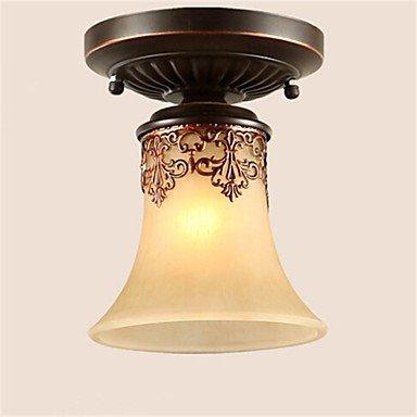 JJ Moderne LED-Deckenleuchten YL Kronleuchter Pendelleuchten LED Vintage Deckenlampen klassische rustikale Lodge Vintage Retro Laterne Wohnzimmer Schlafzimmer Esszimmer , warm Weiß-(220V-240V)