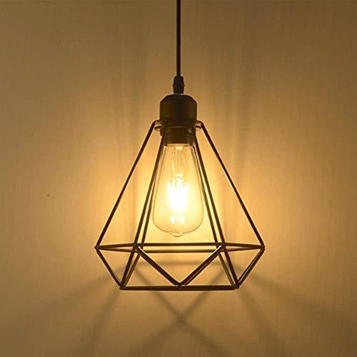 Pendelleuchte Retro Vintage Hängeleuchte Deckenbeleuchtung E27 Fassung AC220-240V für Esstisch, Schlafzimmer,Kaffee-Bar,Leseraum Beleuchtung