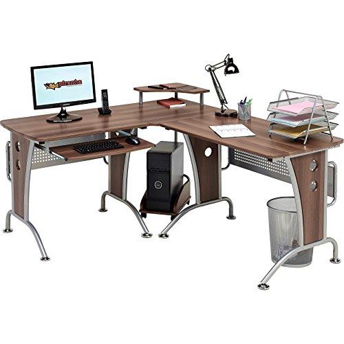 Piranha Großer Computerecktisch für Das Home Office PC21
