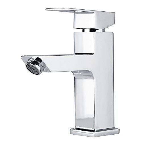 Homelody Waschtischarmatur Badarmatur Mischbatterie Waschbecken Wasserhahn Waschtisch armatur bad Waschbeckenamatur Einhebelmischer f.badzimmer