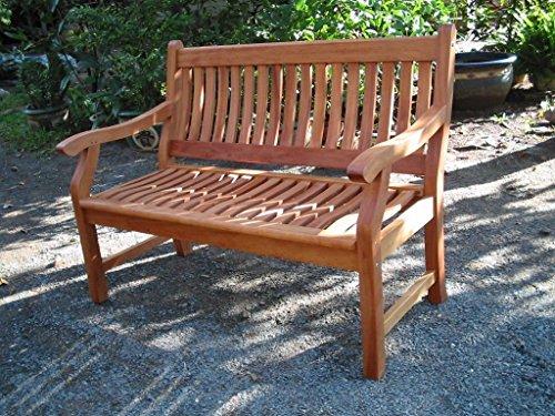 New Jersey Gartenbank 2-Sitzer aus Eukalyptus
