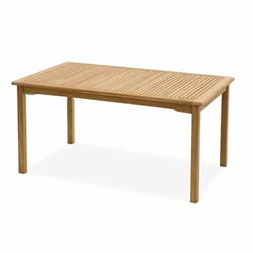 Sedex Carolina Gartentisch 140x60cm / Tisch/Holztisch / Eukalyptus FSC - Natur