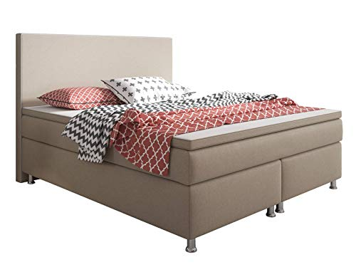 Inter King Size Boxspringbett Stoff