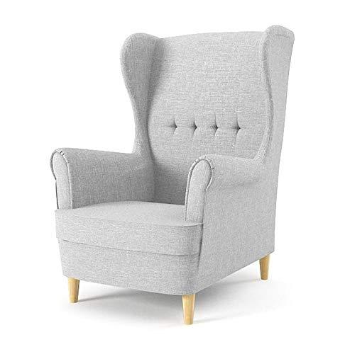 Sofini Ohrensessel Milo! Sessel für Wohnzimmer & Esszimmer! Skandinavisch, Relaxsessel aus Webstoff, Best Sessel!