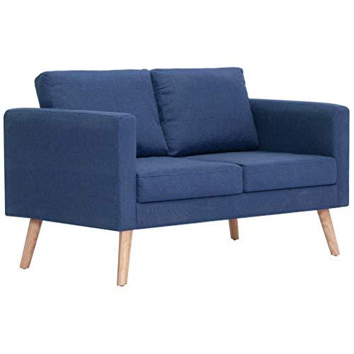 vidaXL Sofa 2er Polstersofa Loungesofa Stoffsofa Sitzmöbel mehrere Auswahl