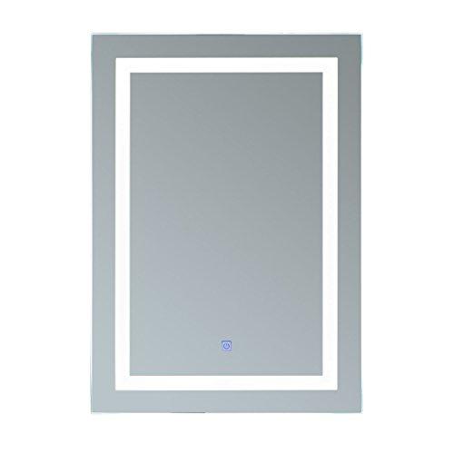 HOMCOM® Lichtspiegel LED Spiegel Badspiegel Badezimmerspiegel Wandspiegel