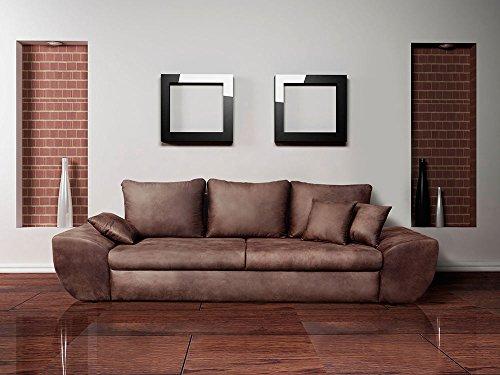 lifestyle4living Big Sofa mit Schlaffunktion