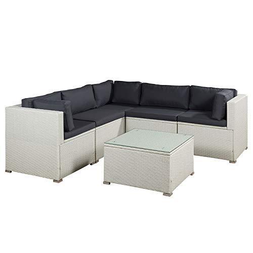 ArtLife Polyrattan Gartenmöbel Lounge Nassau